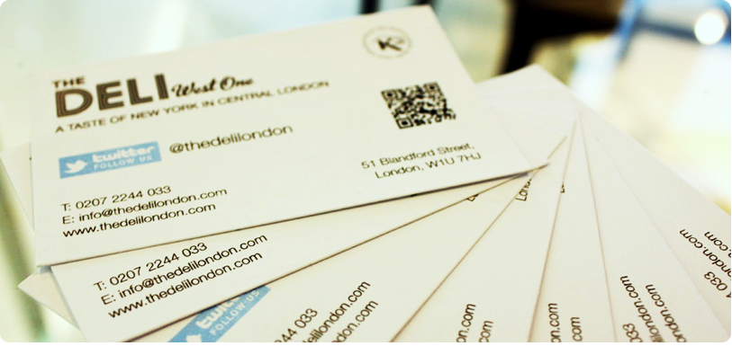 Business Cards Printing Central London