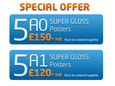 Poster Printing Special Offers
